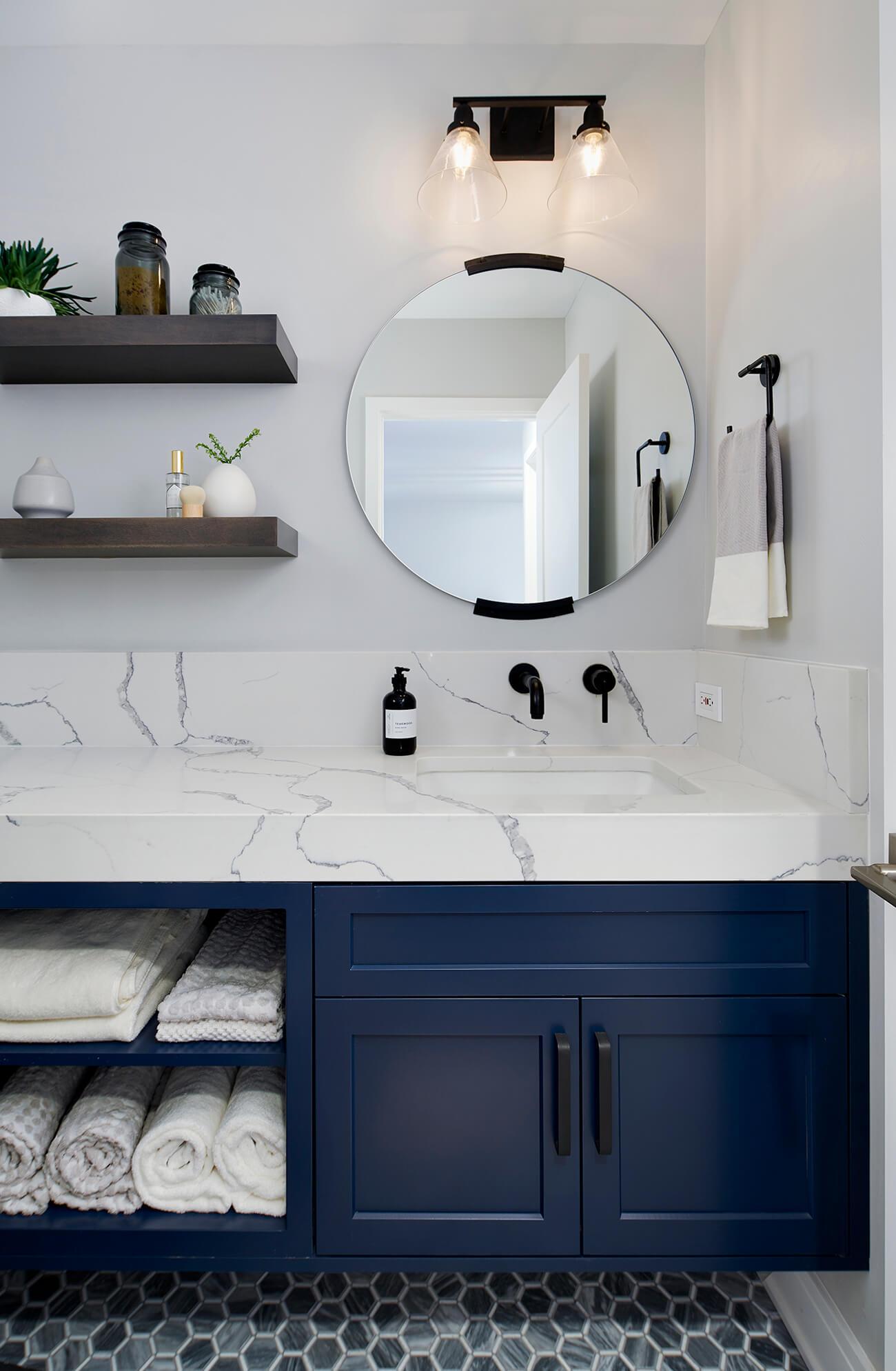 Classic Patterns Bathroom Design